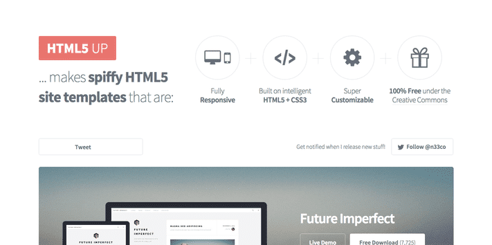HTML5 Up